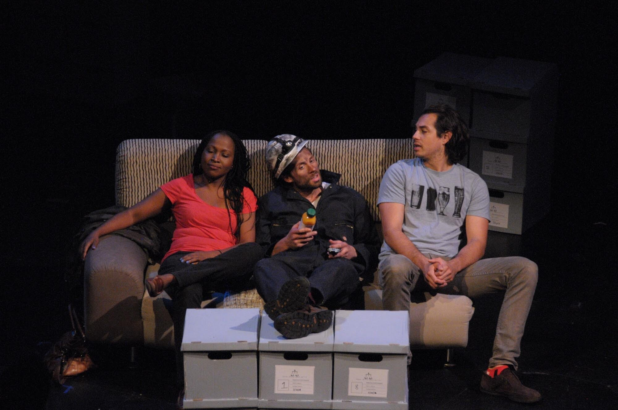 "Opal Taylor-Besson, Max Monnig, and Lorenzo Villanueva in ""Mine"""