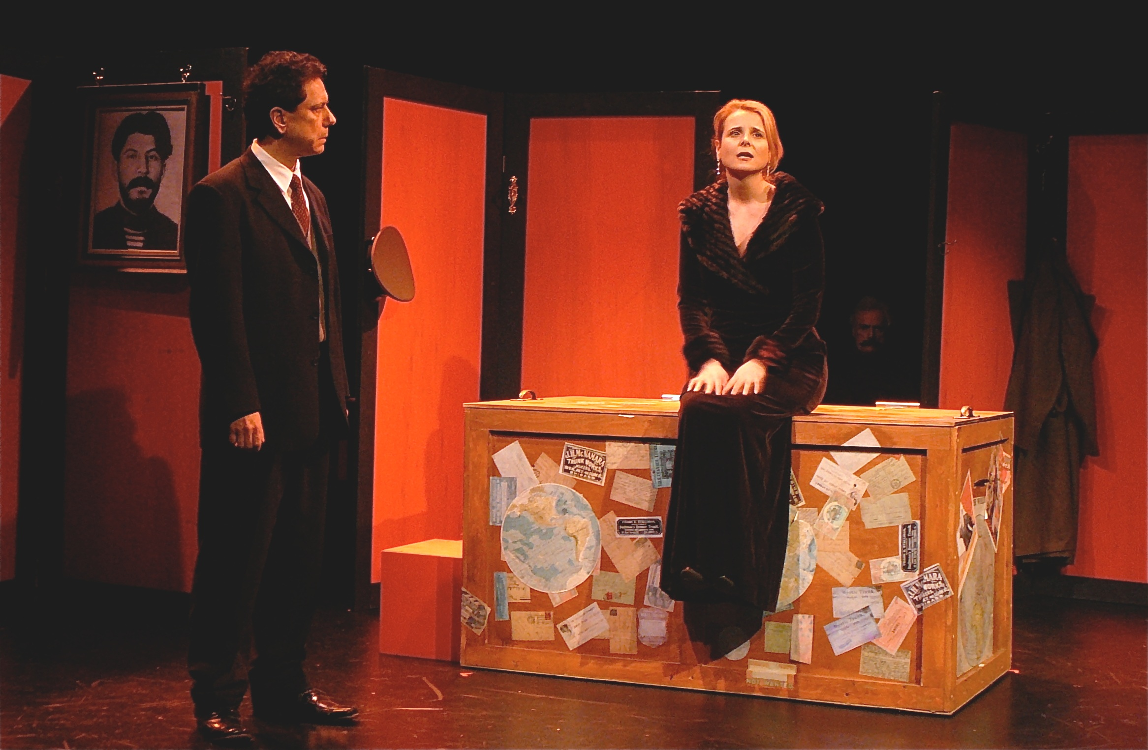 """A NIGHT IN THE KREMLIN,"" WITH PETER TEDESCHI AT MIDTOWN INTERNATIONAL THEATRE FESTIVAL"