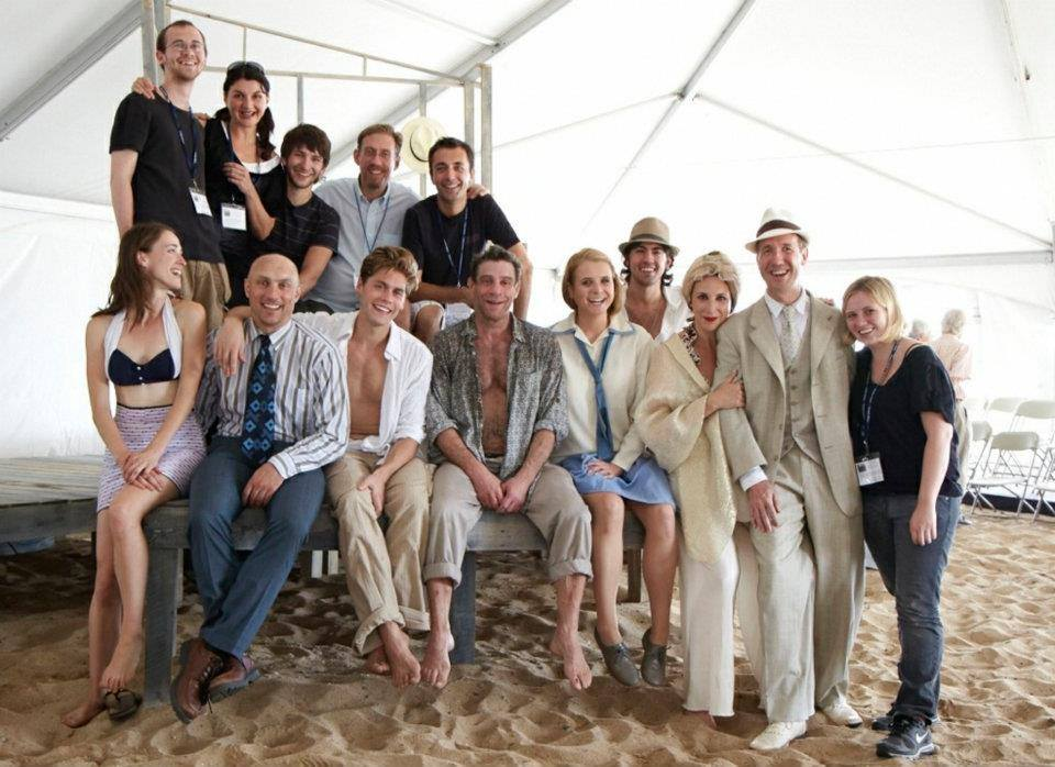 "CAST OF ""SOMETHING CLOUDY, SOMETHING CLEAR"" AT THE PROVINCETOWN TENNESSEE WILLIAMS FESTIVAL"