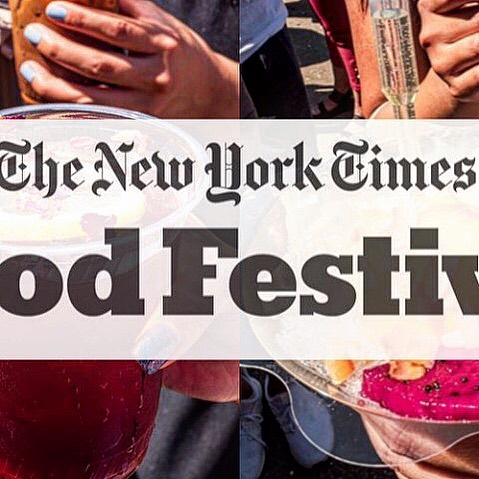 "🚨ALERT🚨 Last chance to catch us for this season!! @nytimes Food Festival at @bryantparknyc This weekend 10/5+6. ""Best of Smorgasburg"" section. After this we will hibernate for the winter and see you next year 👋🏻"