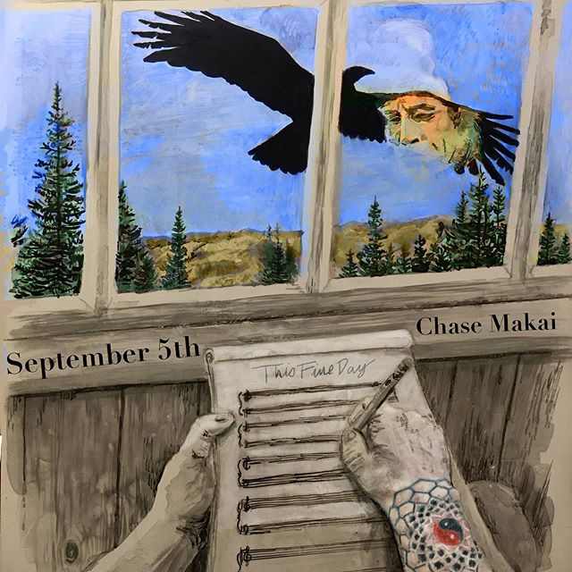 This Fine Day comes out September 5th.  The second single off of my debut album Undique!  Who's ready for more new music?! #chasemakai #newmusic #singersongwriter #singlerelease #rockandroll #newband #newalbum #medicinetribe #chasemakaitrio #guitarist