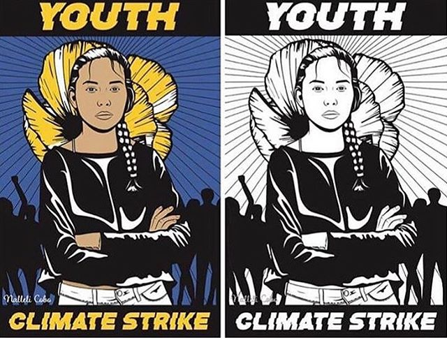 The youth of the world are fighting for our right for a healthy climate, I support this 100% get out there and march and i will too 🙏🏼 #earthguardians #climatechange #climatestrike #climatemarch
