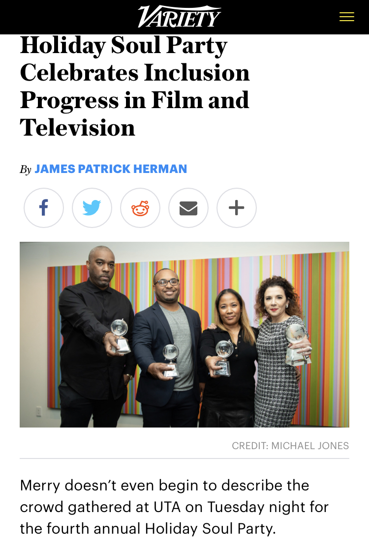 Thank you, Variety! - Read More
