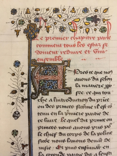 Christine de Pizan manuscript, British Library.