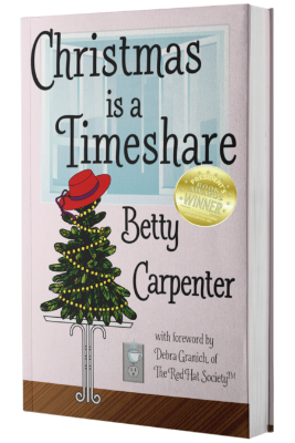 Christmas Is A Timeshare - Betty Carpenter - Executive Jessie Bailey's perfect life hits a snag with the arrival of a tall, dark Texan from Corporate, and two terrifying gifts left on her desk.Florida Authors & Publishers 2018 Gold Medalist in Christian Fiction2018 RWA Maggie Awards in Romance with Religious or Spiritual Elements