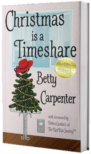 Christmas Is A TimeshareBetty Carpenter - Property management executive Jessie Bailey's perfect life hits a snag with the arrival of a tall, dark Texan from Corporate, and two terrifying gifts left on her desk.2018 Florida Authors & Publishers Association President's Awards Gold Medalist2018 GRW Maggie Awards for Excellence: Romance with Religious or Spiritual Elements Finalist