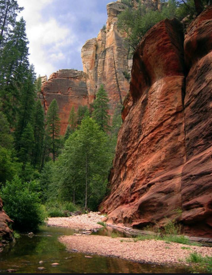 West Fork Trail/Oak Creek Canyon