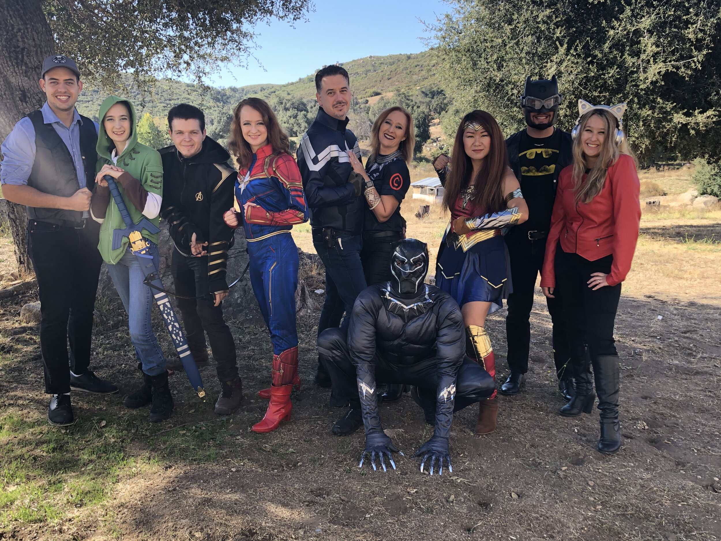 Your LECTURER SUPERHEROES! Ready to save the day!