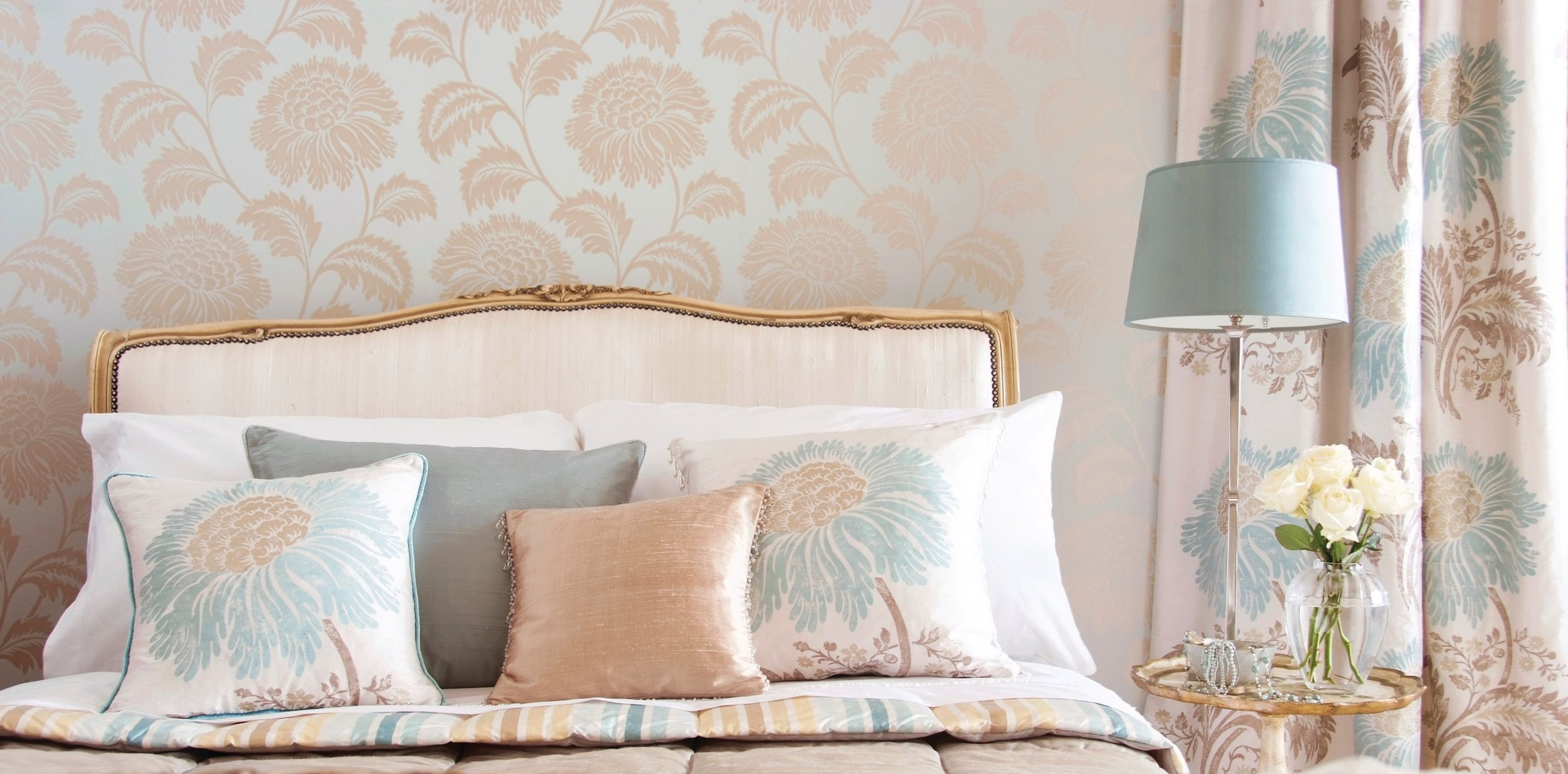 There is nothing in your home softer than your bed…and custom pillows, duvets, comforters and spreads will visually add beauty as well as add to your comfort.