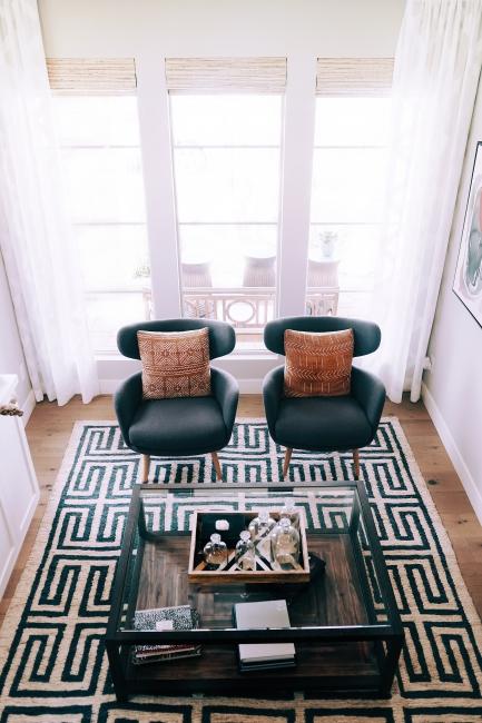 Pleasanton CA Toni Berry Marie Antoinette Interiors-long-custom-white-drapery-sitting-room-living.jpg