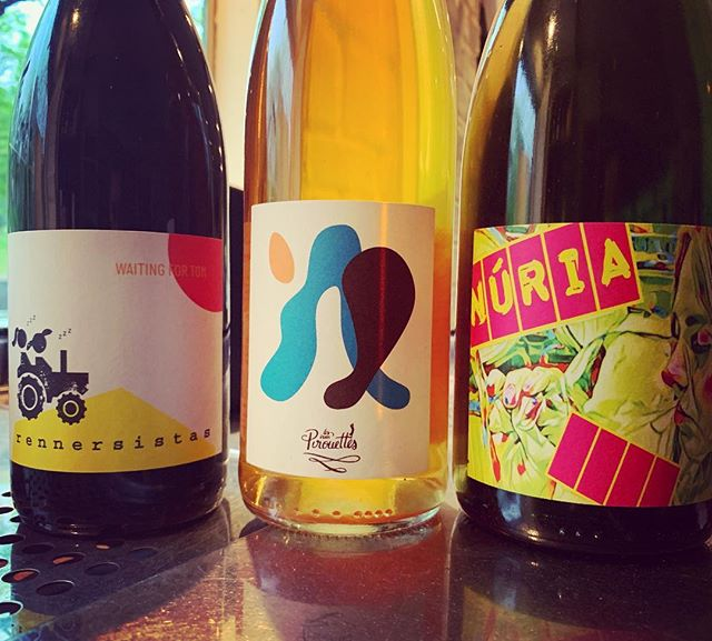 sustainable, respectful, tasty simple pleasures for the spring... new on the list.... limited quantities❤️💛🧡🍷 #naturalwine  #petitpaulettebk  #brooklyn #winebar