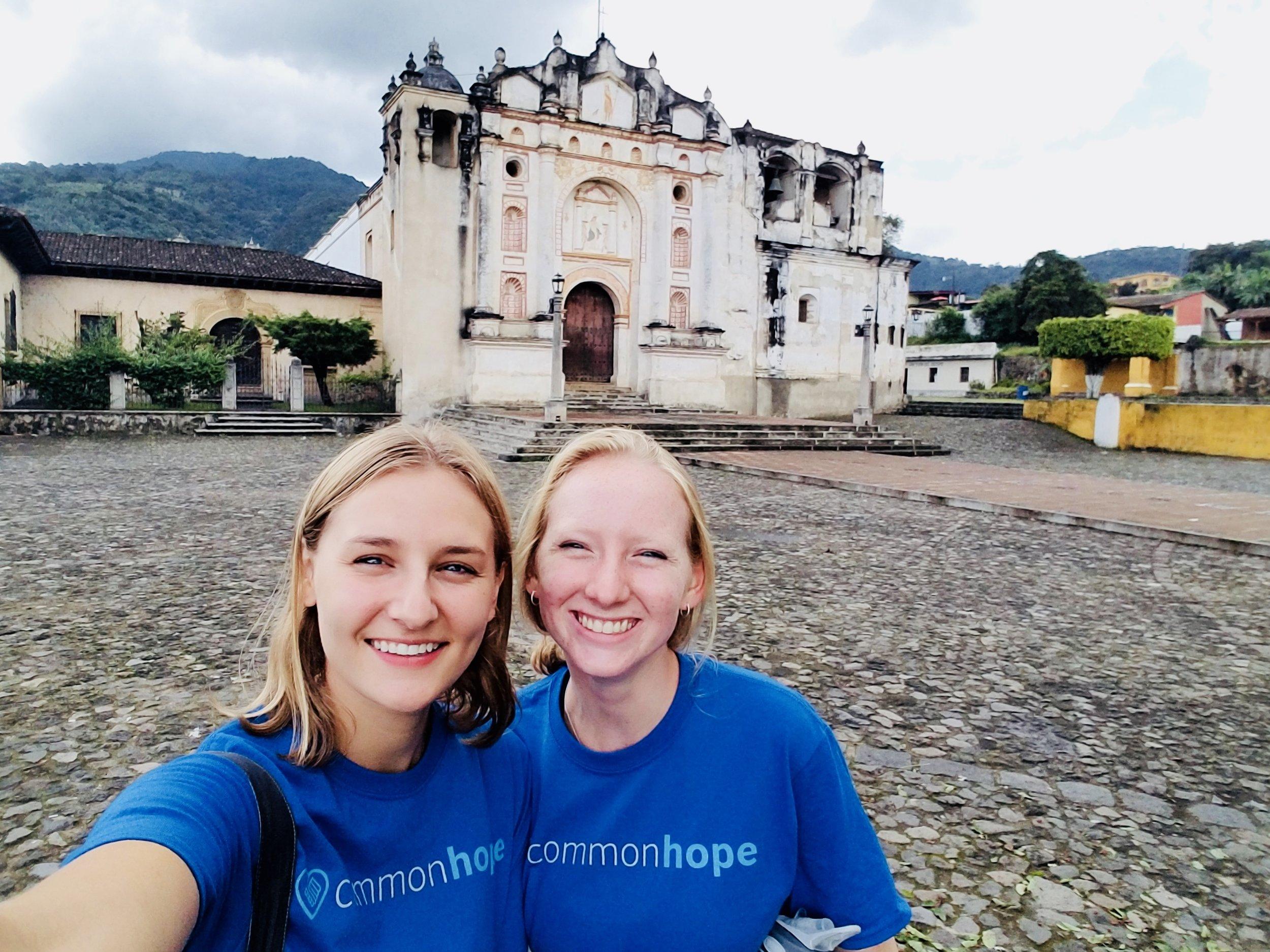 Touring the sights of Antigua, Guatemala.