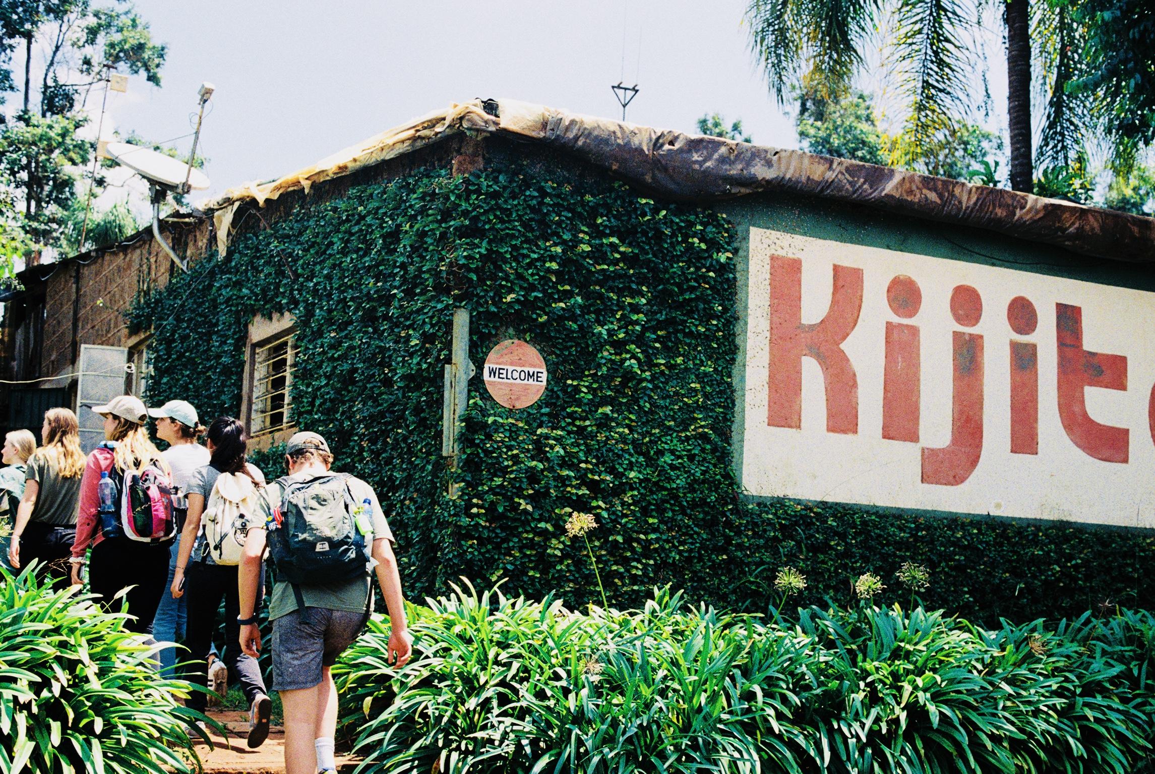 Touring the Kijito Windmill factory outside of Nairobi, Kenya.
