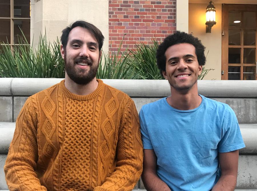EWB-USC External Chairs Jon Swan (left) and Harrison Getter (right).