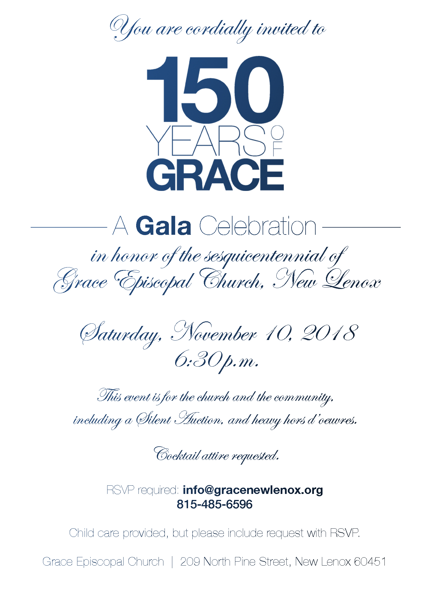 Please click on the invite to RSVP. You will receive tickets (no cost) by mail or pick-up for the event. RSVP right away!
