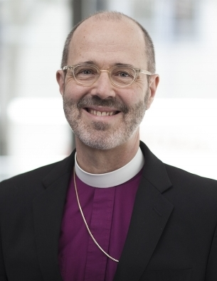 The Rt. Rev. Jeffrey D. Lee, IX Bishop of Chicago, whose episcopacy began in February 2008