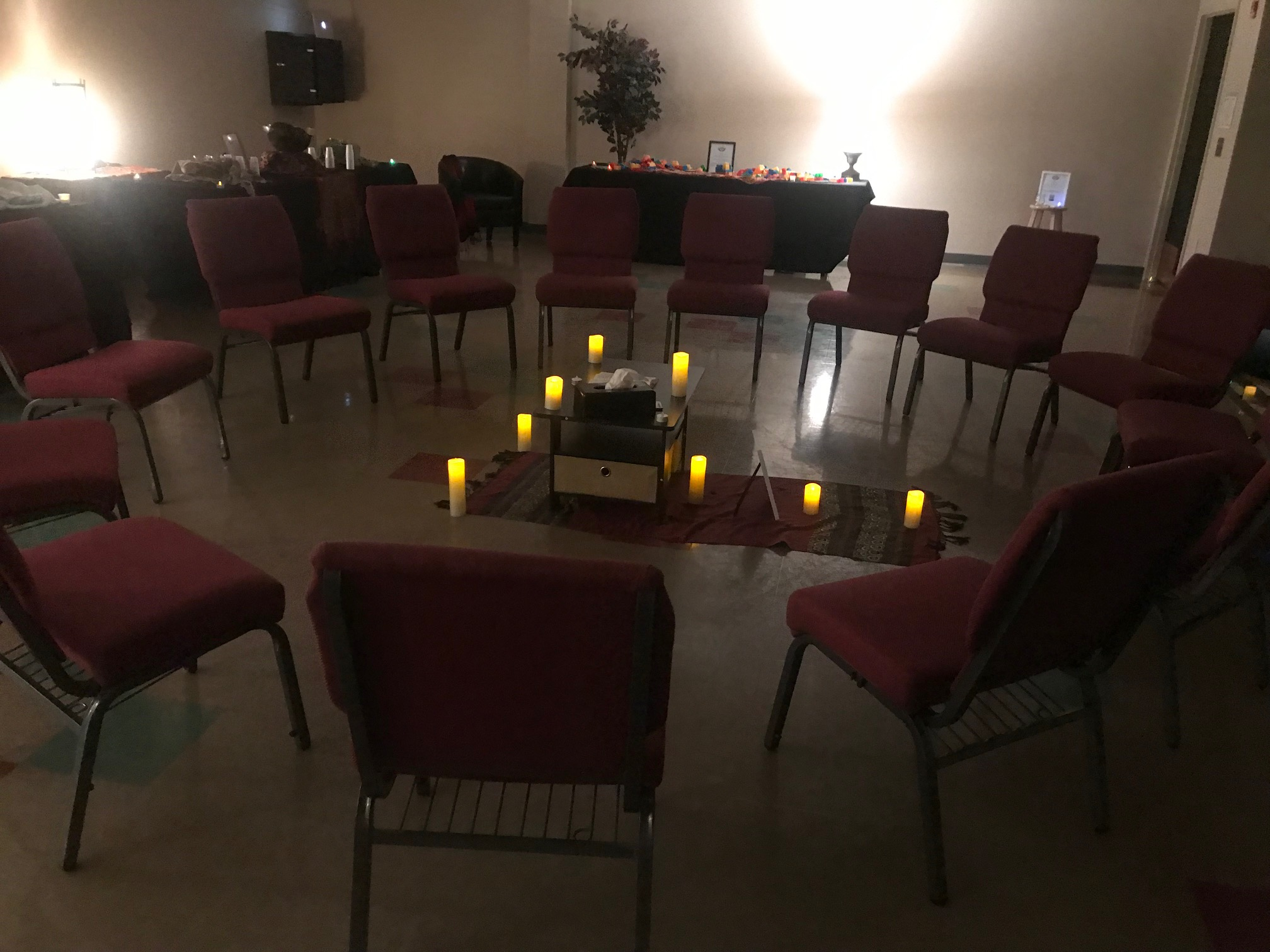 For Conferences - Needing a temporary installation for an event? Let's cater the stations and activities around the theme/scriptures of the conference.