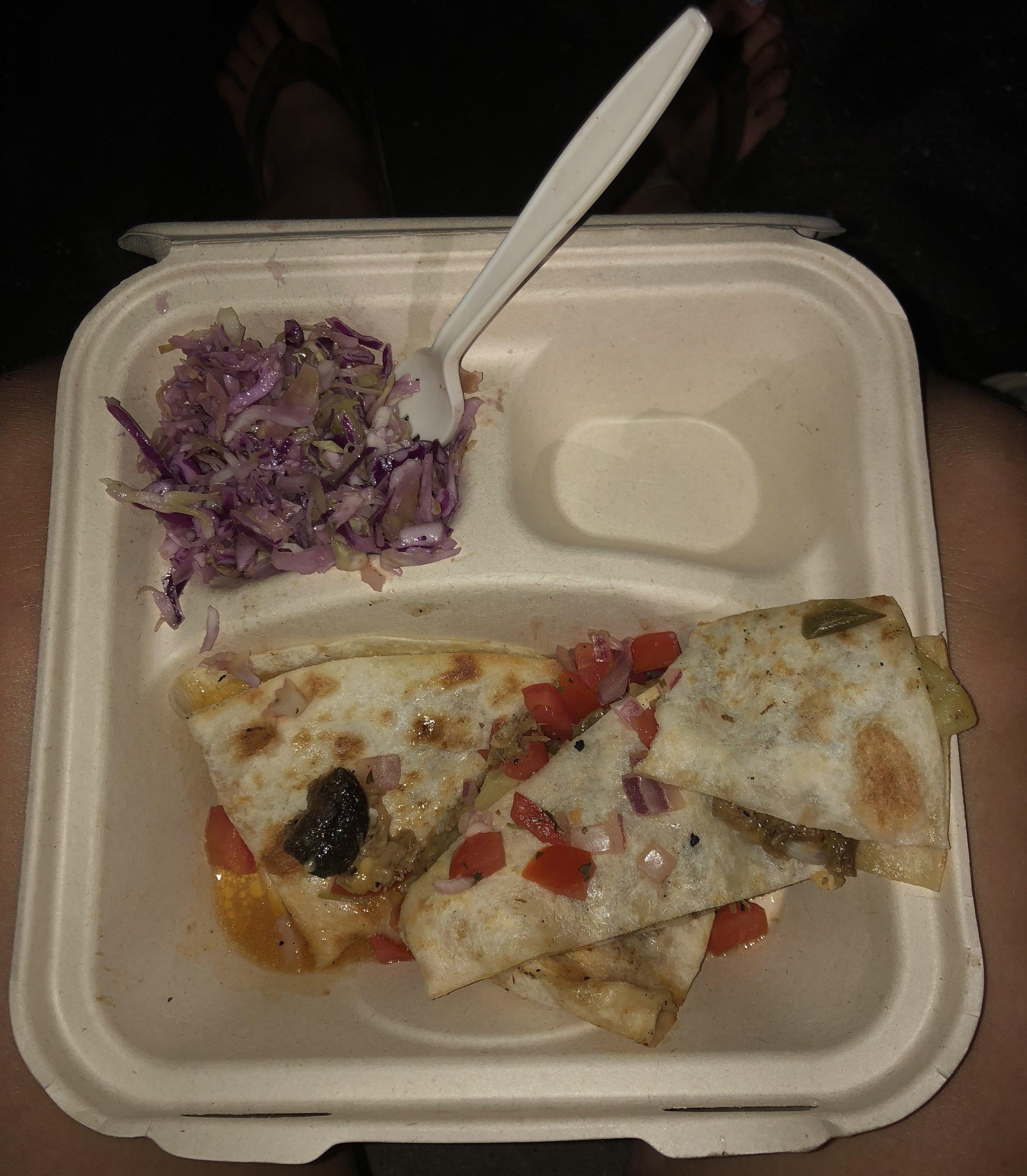 Yummy food from yummy food truck.