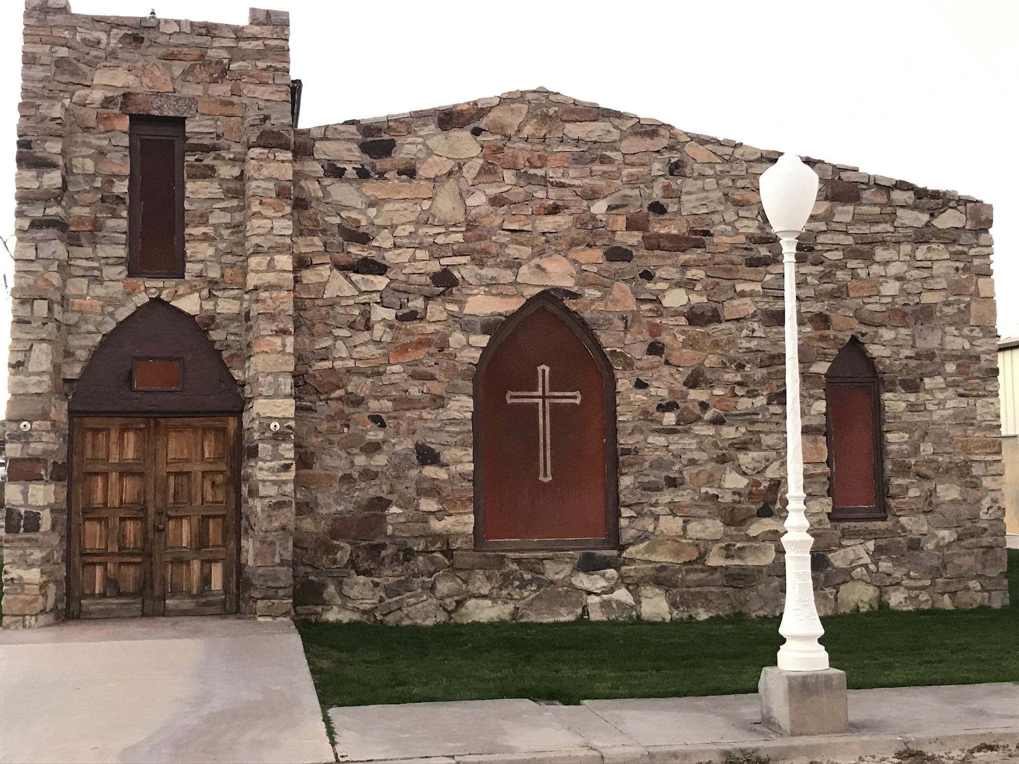 A church in Duncan.