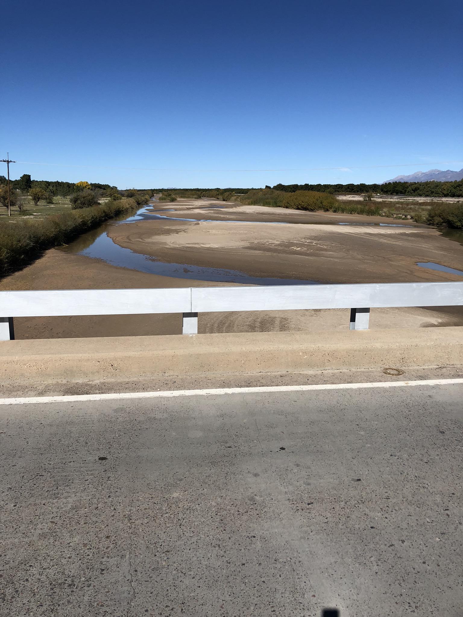 Rio Grande river.