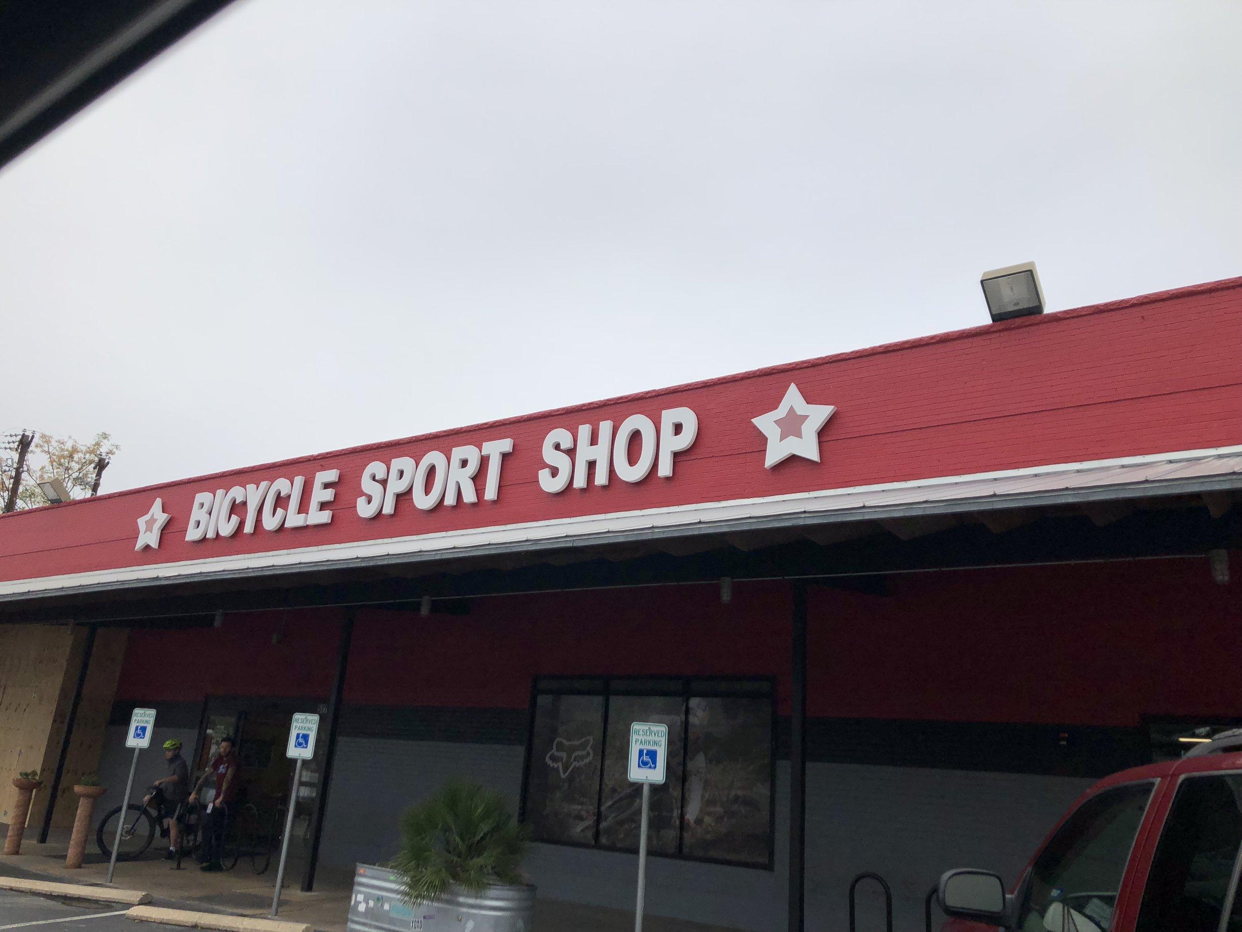 Bike shop!