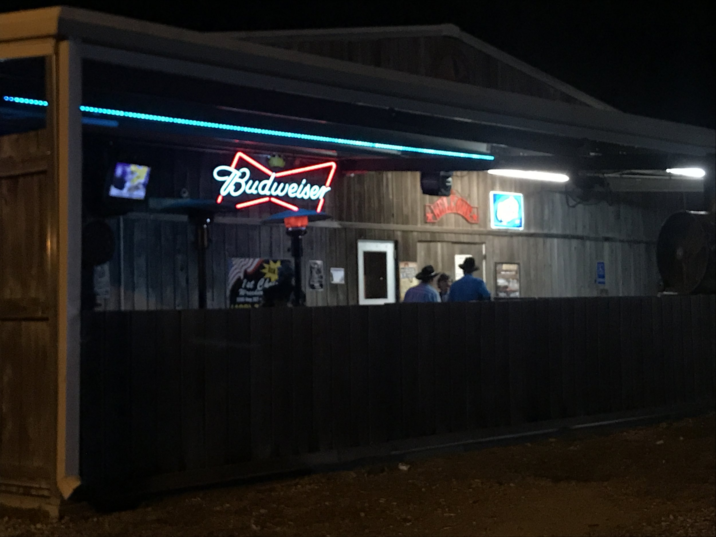 Honky think Texas bar.
