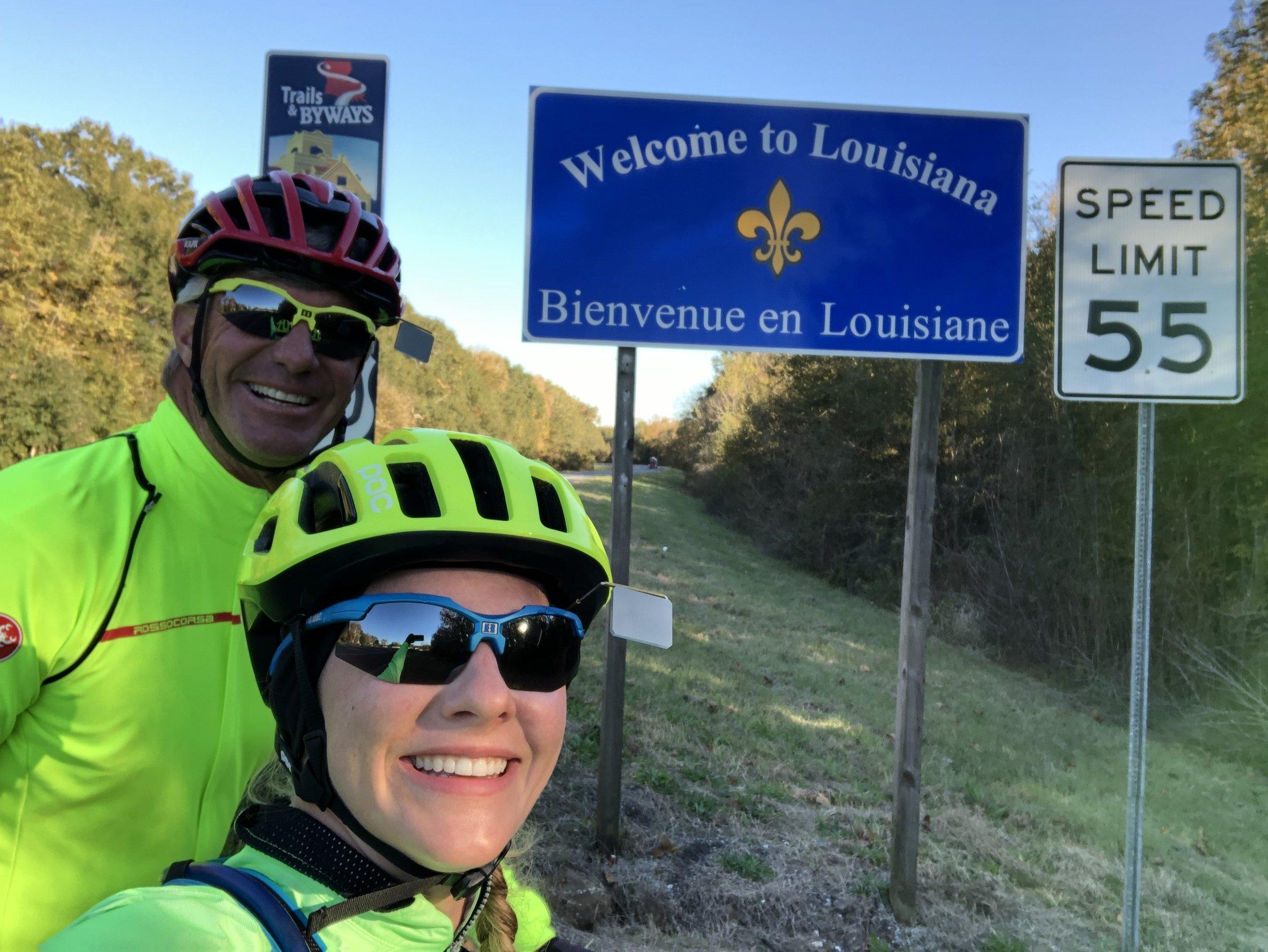 Welcome to Louisiana!