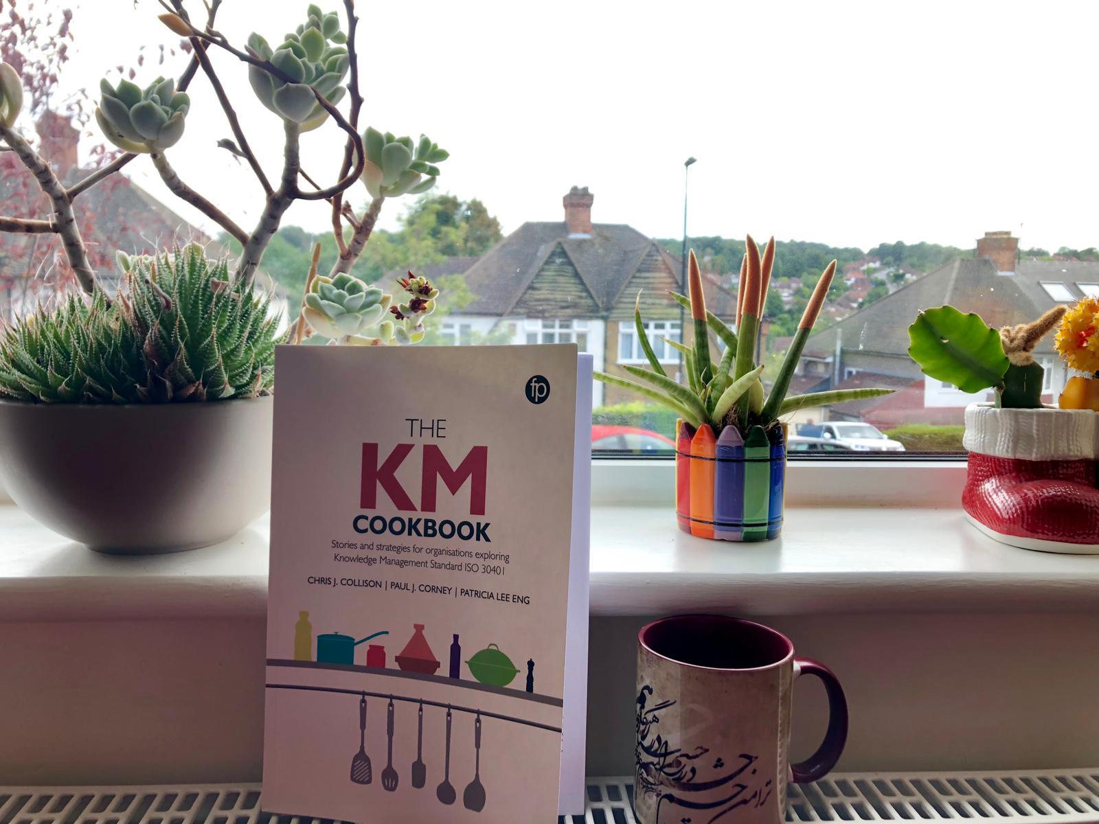 Firoozeh Hadian Dehkordi's KM Cookbook in situ… Firoozeh's story about the use of KM tools concluded the Chefs Specials chapter.