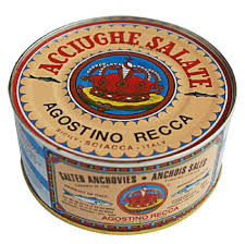 Anchovies in Sea Salt