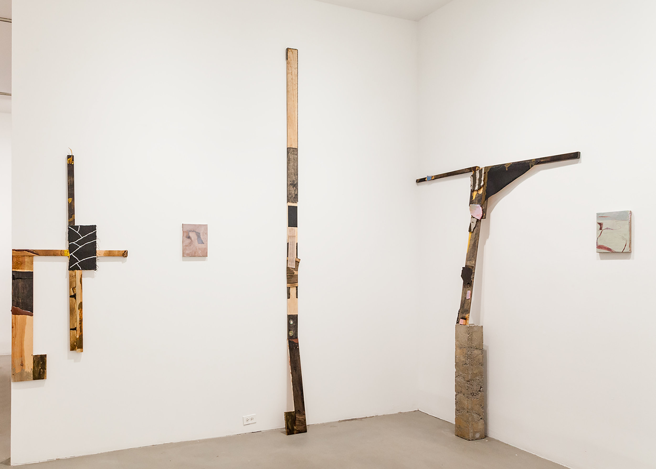 Burn your finger, And kiss it yourself (installation shot)