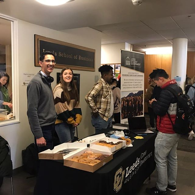 Our office hours today begin at 3:30pm! Come see us in the atrium to give feedback, ask questions, add suggestions, shop our apparel store, and grab a tasty treat!