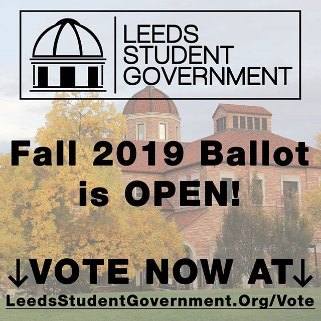 The Fall 2019 Ballot is Open! Visit the link in our bio to view candidates' headshots and bios, and to cast selections for your student representatives.  Voting will close at 11:59PM MST on April 12th.