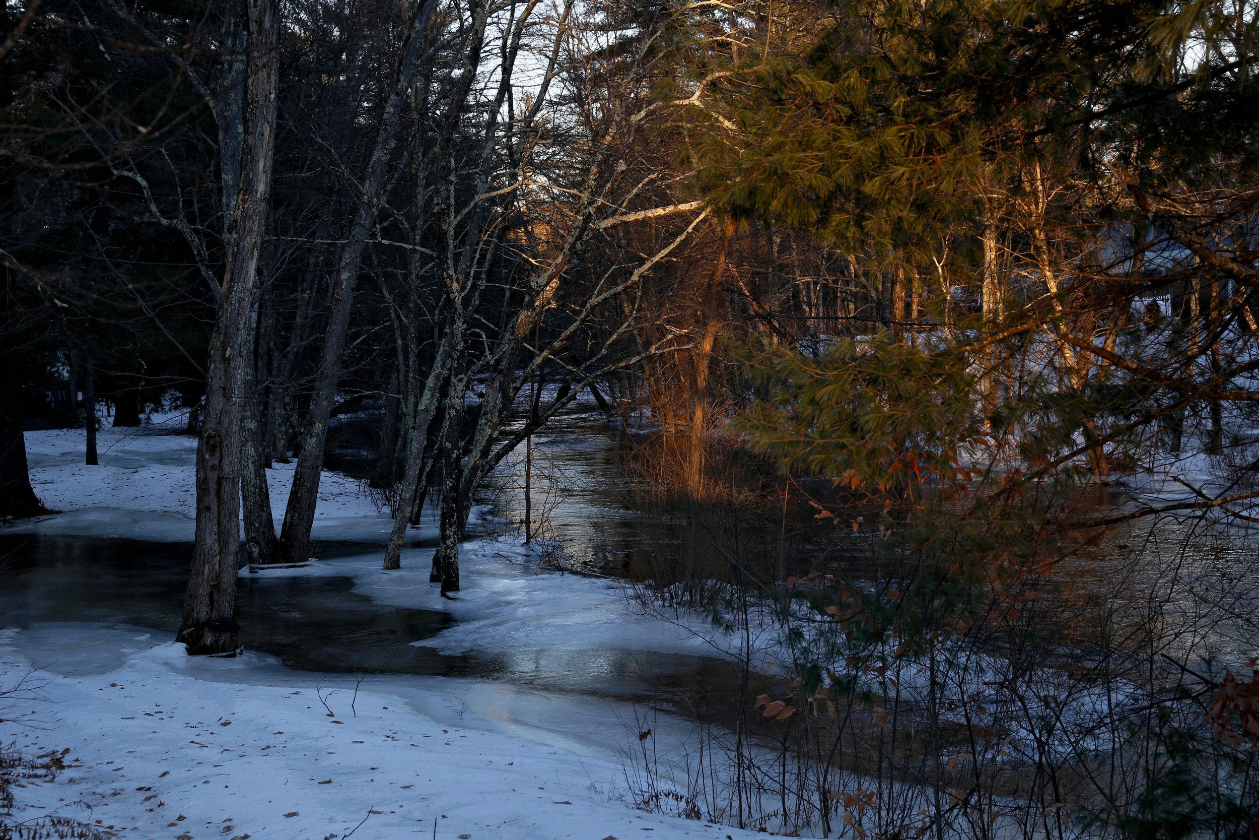 Winter river, 2018