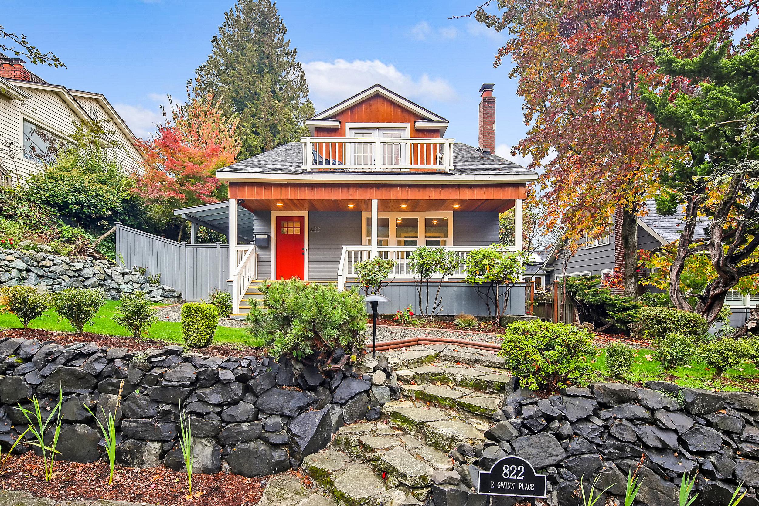 822 E Gwinn Pl · Seattle ·$1,203,500