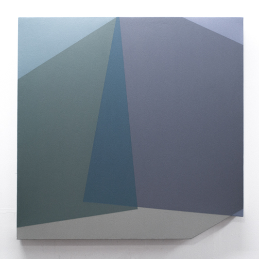 Untitled, 2018 Acrylic on canvas over panel 24 x 24 inches