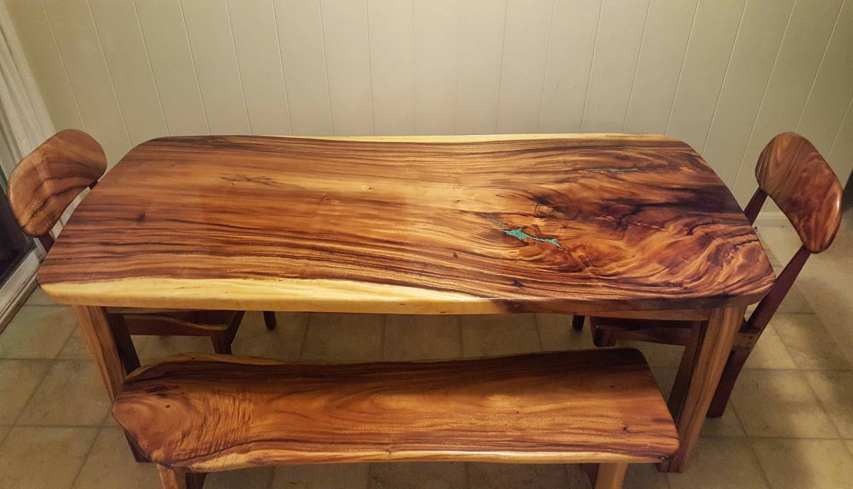 Tables Woodworking Hawaii