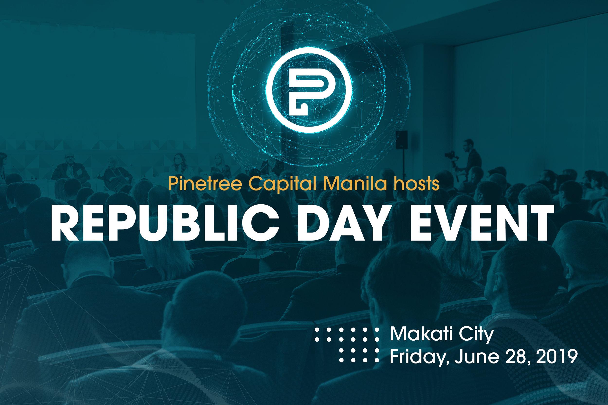 Republic Day Celebration - Makati Diamond Residences on June 28