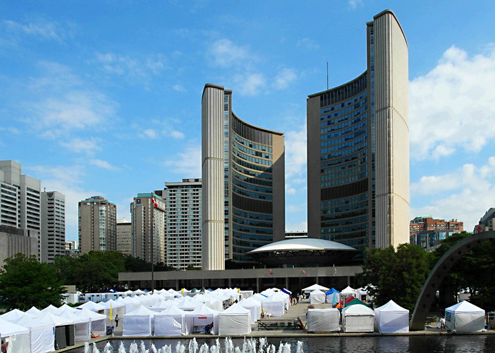 TORONTO OUTDOOR ART EXHIBITION Nathan Phillips Square Toronto