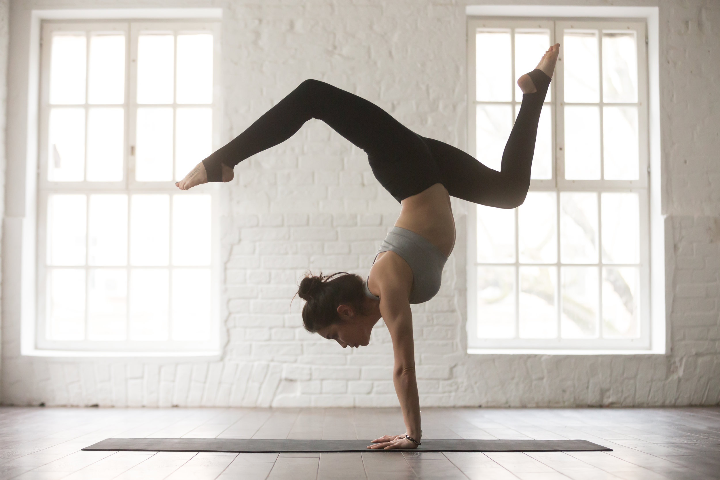 """Fitness/Goal Series - 30 MINUTES $50 • 45 MINUTES $6560 MINUTES $80Instruction offered for children and for adult, solo and/or group students.**see aboveWant to be able to touch your toes? Do a headstand? A pirouette? Finally get that split? We're here to help. We will give you the tools to achieve your goals in a safe, healthy way.Instruction offered for: Children, Adults, Solo and Small Groups. Pricing varies by group size, see """"Prices"""" tab for details"""