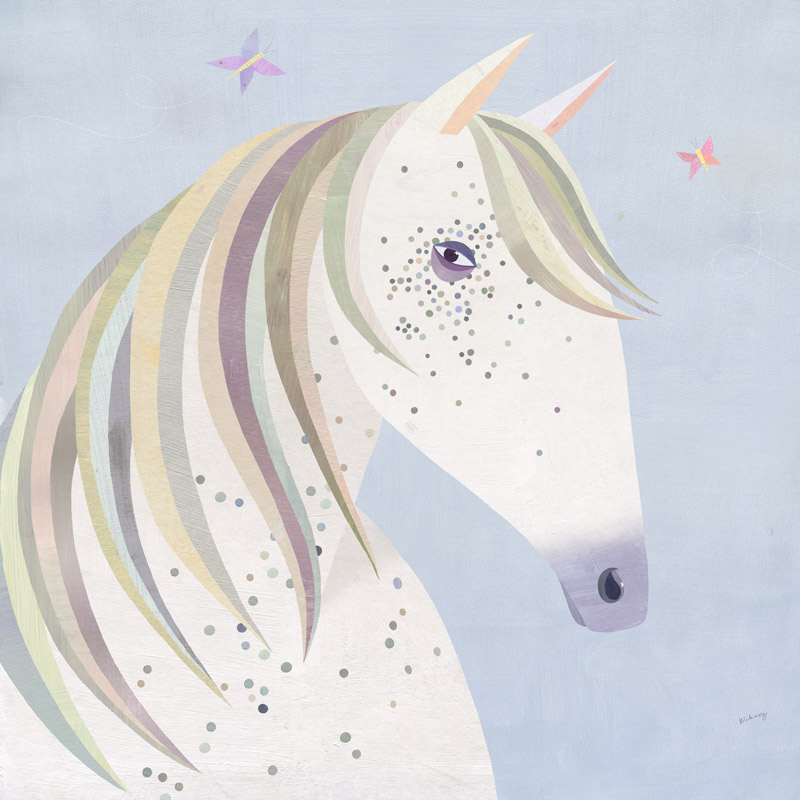 dotted horse