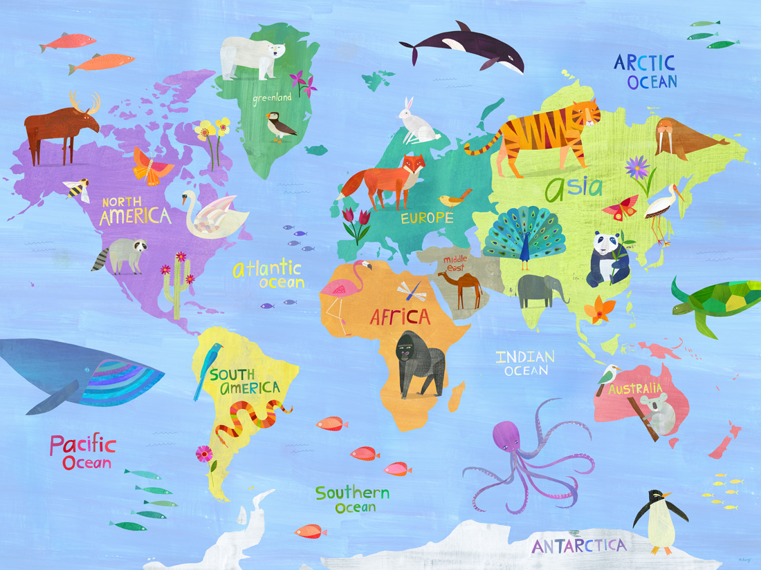 animals of the world