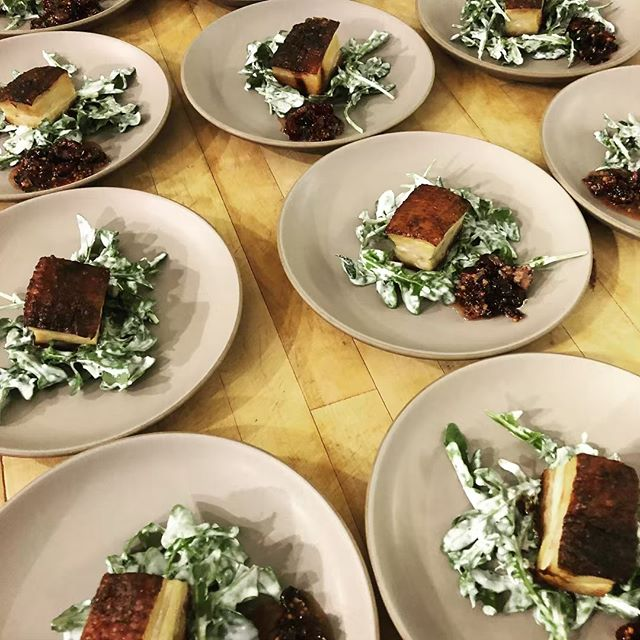 Just one seat left for our Pork Belly Tutorial, Saturday, May 4th, 1-3 pm. Mmm bacon! We will cure, roast, smoke pork belly and demonstrate some of my favorite pork belly dishes. Sign up on our website by clicking on the link in our bio.