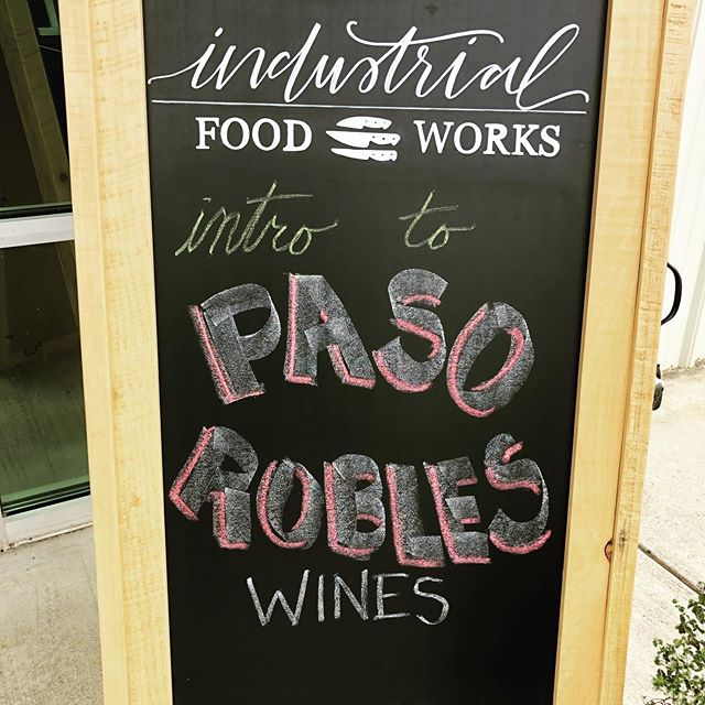 What a fun weekend of classes! Thanks to everyone who joined us at Industrial Food Works Friday and Saturday for our Intro to Paso Robles wines and Farmers Market Basket classes! Already looking forward to next month's classes!#cooking #cookingclass #farmersmarket #pasorobles #pasorobleswine #tincity #wine #winetasting #industrialfoodworks #visittuolumnecounty