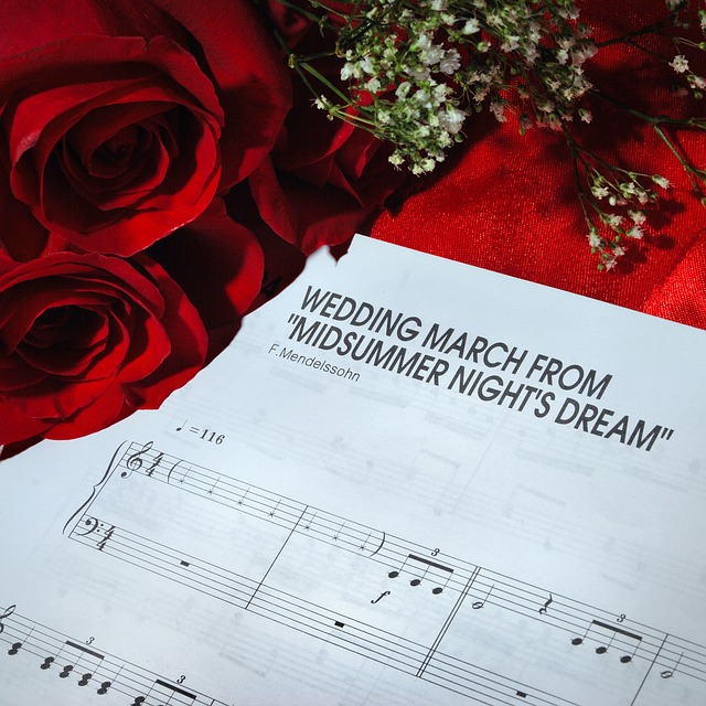 This famous Wedding March is often played as a Recessional at both Nuptial Mass or Wedding Ceremony.