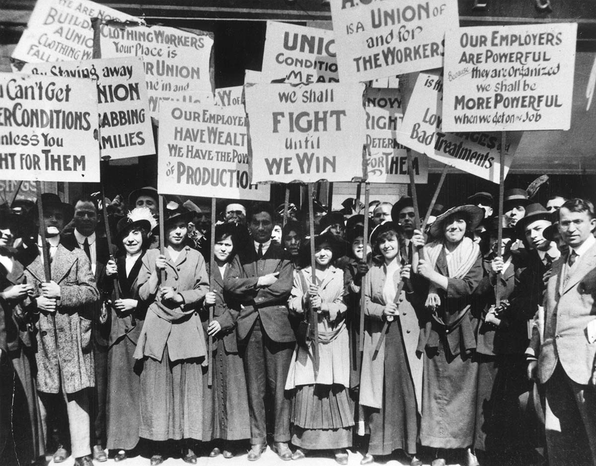 Labor Rights - The massive war on unions and workers' right to organize must be reversed. Federal and State laws punishing employers for violating union and employee rights are long overdue and must be enacted immediately.