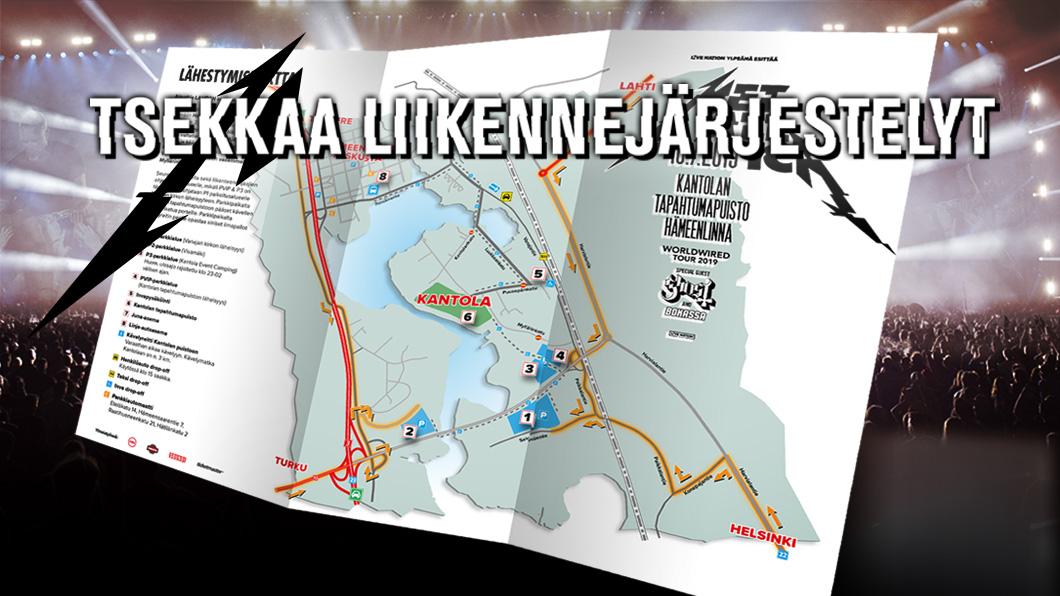 Hämeenlinnassa on useita poikkeusliikennejärjestelyitä - perehdy hyvin ohjeisiin ennen saapumista!