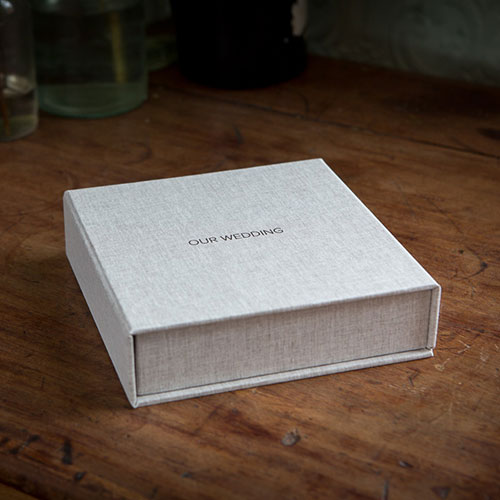 LUXURY CLAM SHELL BOX INCLUDED WITH EUCALYPTUS ALBUM
