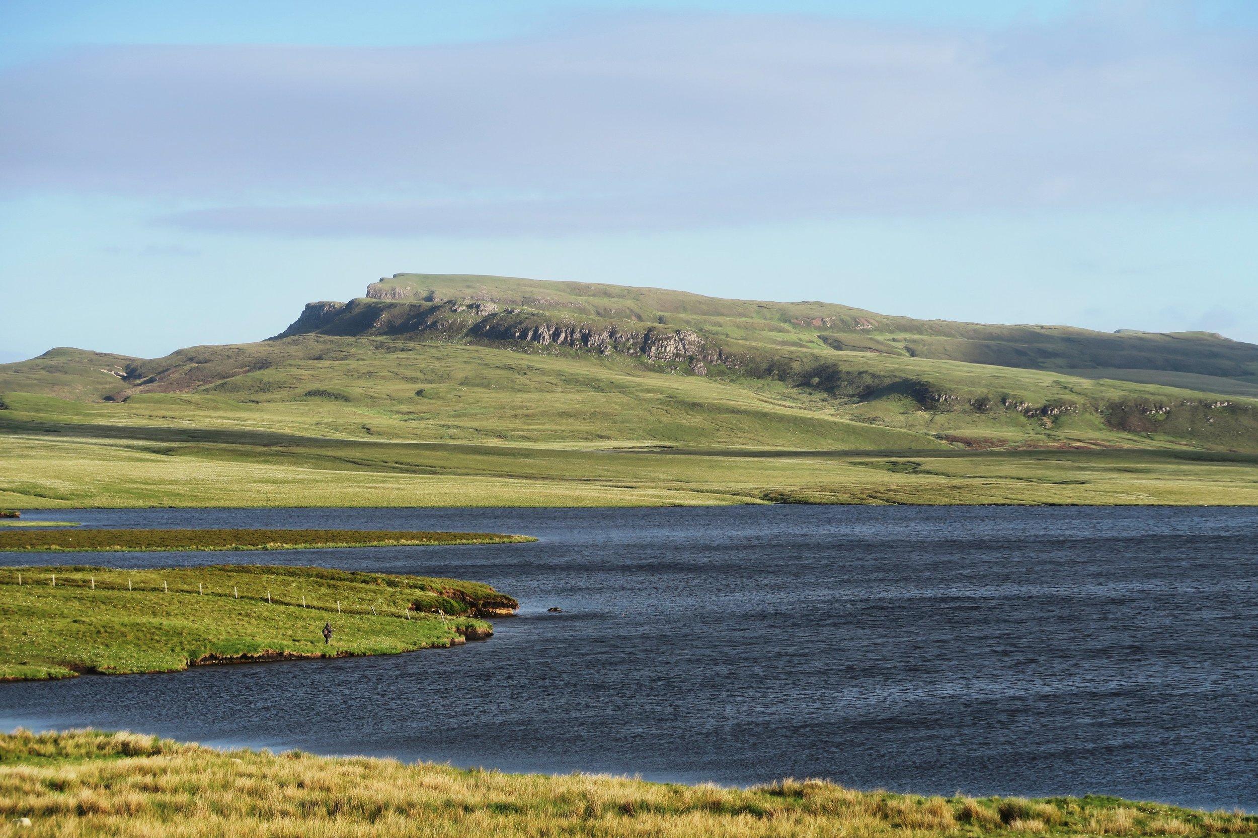 Portree, Scotland. Photo by George Hiles