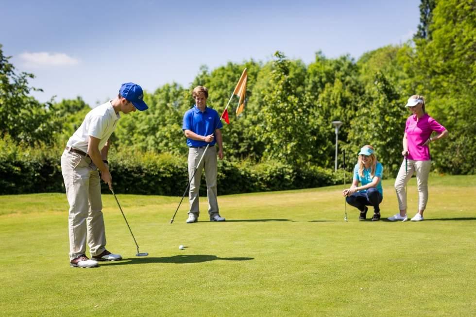 Golf arrangement -