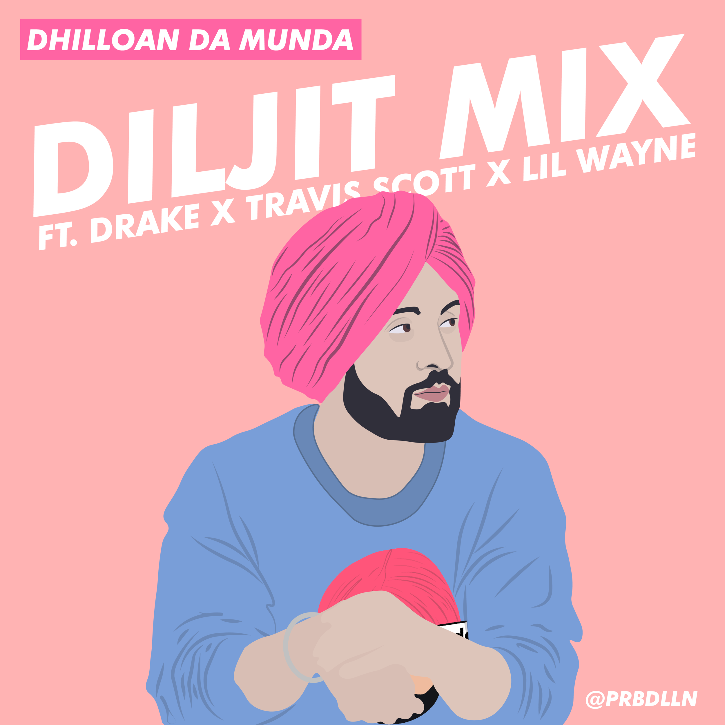 DILJIT MIX - Here's a quick new remix I made of some Diljit songs. Featuring Drake, Travis Scott, and Lil Wayne.
